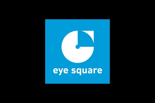 Logo eye square